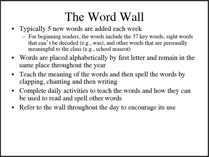 word wall1