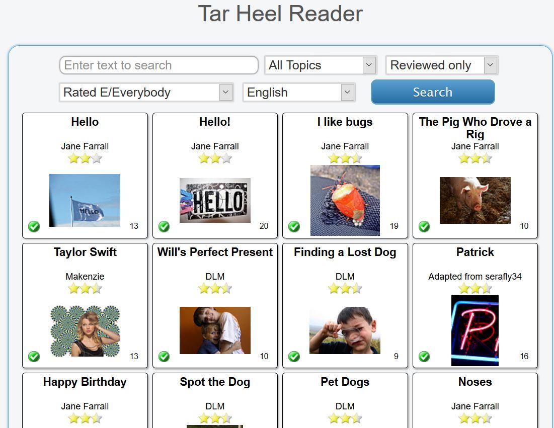 tar heel reader2